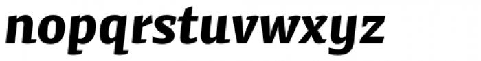 Preto Semi OT Std Black Italic Font LOWERCASE