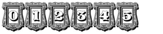 Pretoria Gross Decorative Shadow Font OTHER CHARS