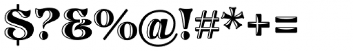 Pretorian DT Handtooled Font OTHER CHARS