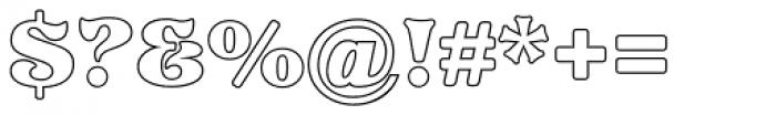 Pretorian DT Profile Font OTHER CHARS