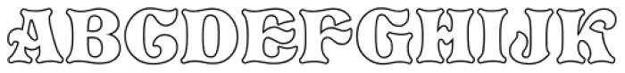 Pretorian DT Profile Font UPPERCASE