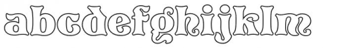 Pretorian DT Profile Font LOWERCASE