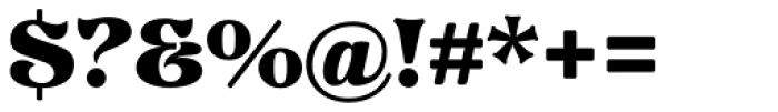 Pretorian DT Font OTHER CHARS