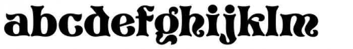 Pretorian DT Font LOWERCASE
