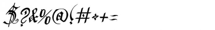 Preussen Pro Italic Font OTHER CHARS