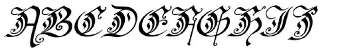 Preussen Pro Italic Font UPPERCASE