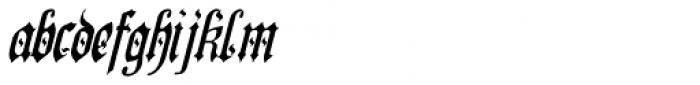 Preussen Pro Italic Font LOWERCASE