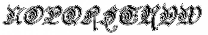 Preussen Special Italic Font UPPERCASE