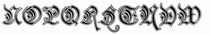 Preussen Special Font UPPERCASE