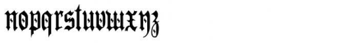 Preussen Special Font LOWERCASE