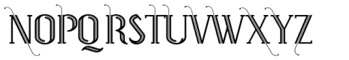 Prevya Display Adorno Font UPPERCASE