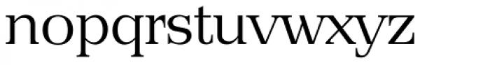 Priamos Serial Light Font LOWERCASE