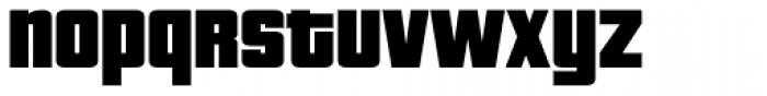 Pricedown Black Font LOWERCASE