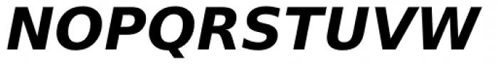 Prima Sans Bold Oblique Font UPPERCASE