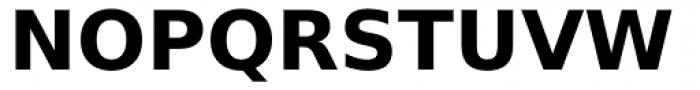 Prima Sans Bold Font UPPERCASE