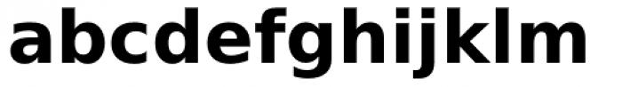 Prima Sans Bold Font LOWERCASE