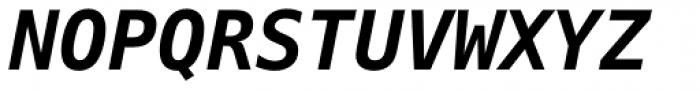 Prima Sans Mono Bold Oblique Font UPPERCASE