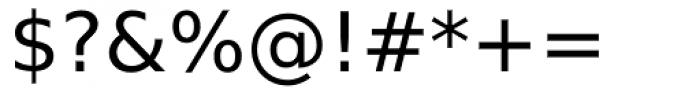 Prima Sans Font OTHER CHARS