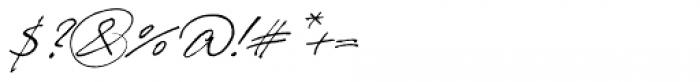 Prima Script Alternative Font OTHER CHARS