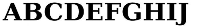 Prima Serif Bold Font UPPERCASE