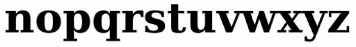 Prima Serif Bold Font LOWERCASE