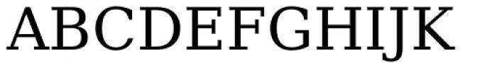 Prima Serif Font UPPERCASE