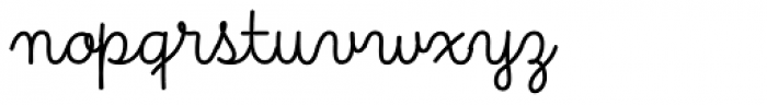 Primaria Regular Font LOWERCASE