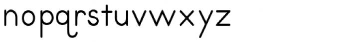 Primer Print Font LOWERCASE