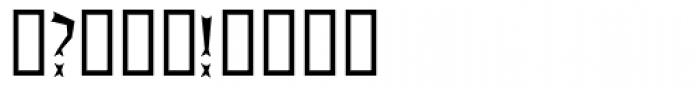 Primer Font OTHER CHARS