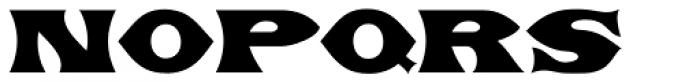 Primitive Tuscan JNL Font LOWERCASE