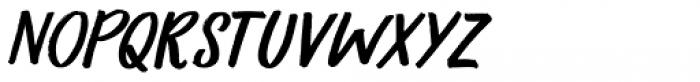 Primordial Italic Font UPPERCASE