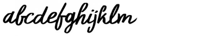 Primordial Italic Font LOWERCASE