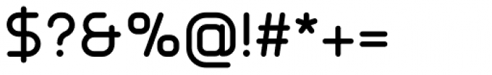 Primus Semibold Font OTHER CHARS