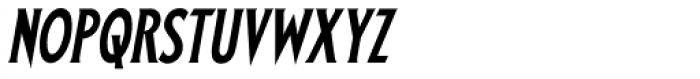 Prince Of Darkness Italic Font LOWERCASE