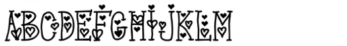 Princess Charming Font UPPERCASE