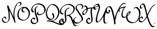 Princess Sofia Royale Font UPPERCASE