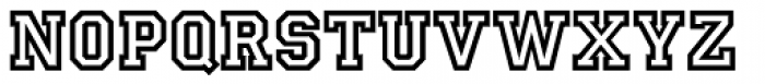 Princetown Std Font UPPERCASE