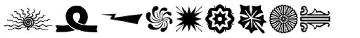 Print Shop Sorts JNL Font LOWERCASE