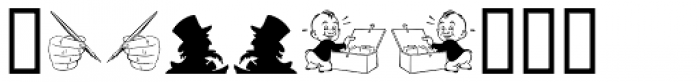 Printers Assistants JNL Font OTHER CHARS