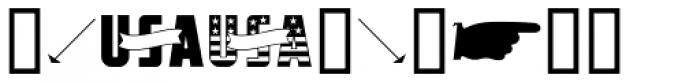 Printers Dingbats JNL Font OTHER CHARS