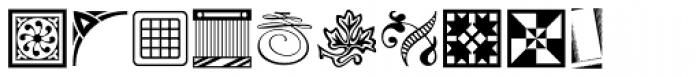 Printers Drawer JNL Font OTHER CHARS