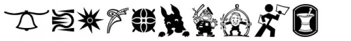 Printers Impressions JNL Font LOWERCASE