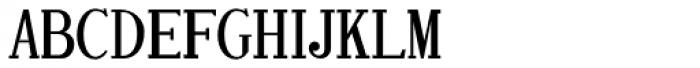 Printing Set JNL Font LOWERCASE