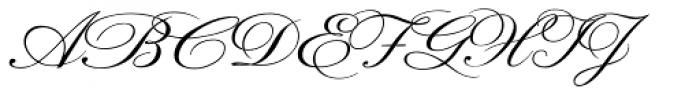 Prints Charming Oblique Font UPPERCASE