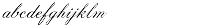Prints Charming Oblique Font LOWERCASE