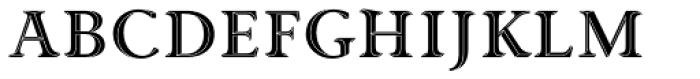 Priori Acute Serif Font UPPERCASE