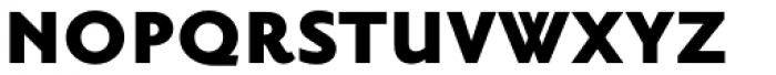 Priori Sans Black Font UPPERCASE