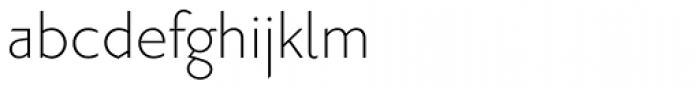 Priori Sans Light Font LOWERCASE