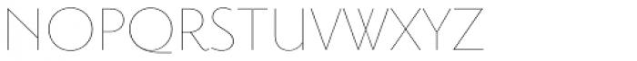 Priori Sans UltraLight Font UPPERCASE