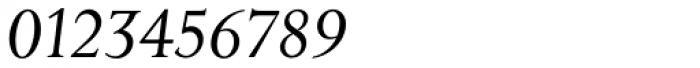 Priori Serif Italic Font OTHER CHARS